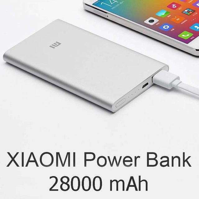 Power bank xiaomi mi slim 28000 фото №1