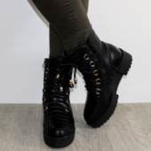 Модные зимние ботинки на толстой платформе 36-40р