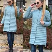 4012/Куртка Комби длинная  ткань: плащевка, Синтепон 200  размер: см мл