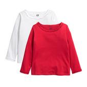 Нарядные регланы для девочки H&M. Цена за набор.