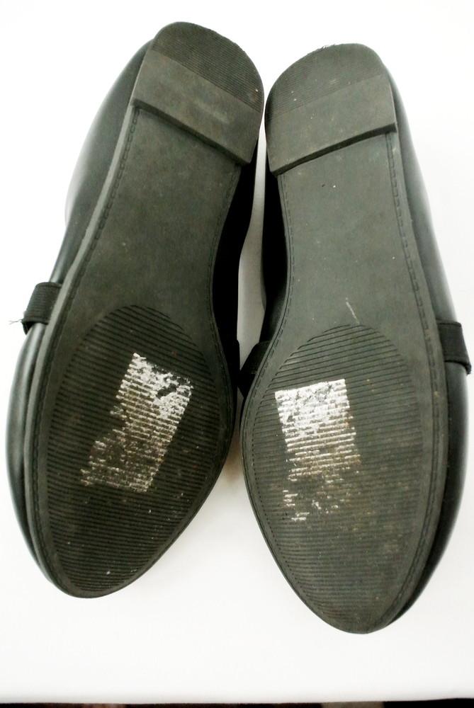Классические стильные туфли-балетки sole diva из кожзама . размер uk8/41-42. фото №9