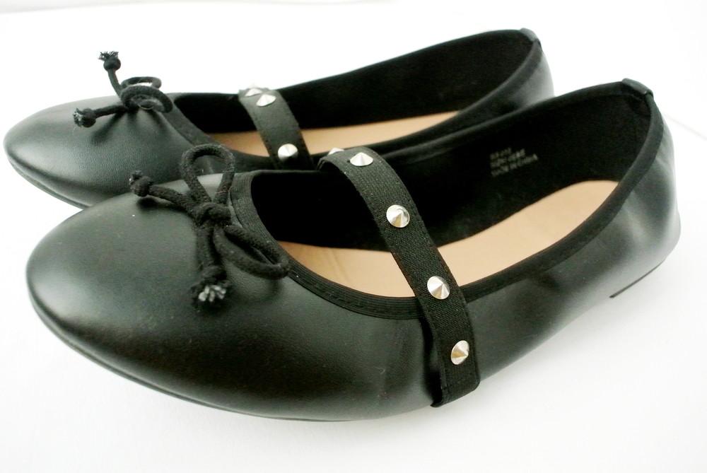 Классические стильные туфли-балетки sole diva из кожзама . размер uk8/41-42. фото №1