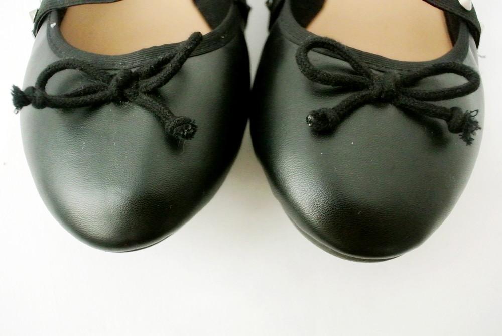 Классические стильные туфли-балетки sole diva из кожзама . размер uk8/41-42. фото №4