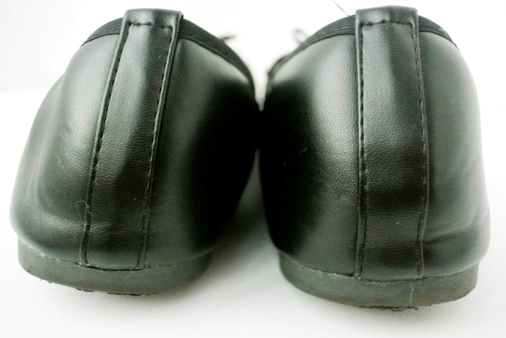 Классические стильные туфли-балетки sole diva из кожзама . размер uk8/41-42. фото №5