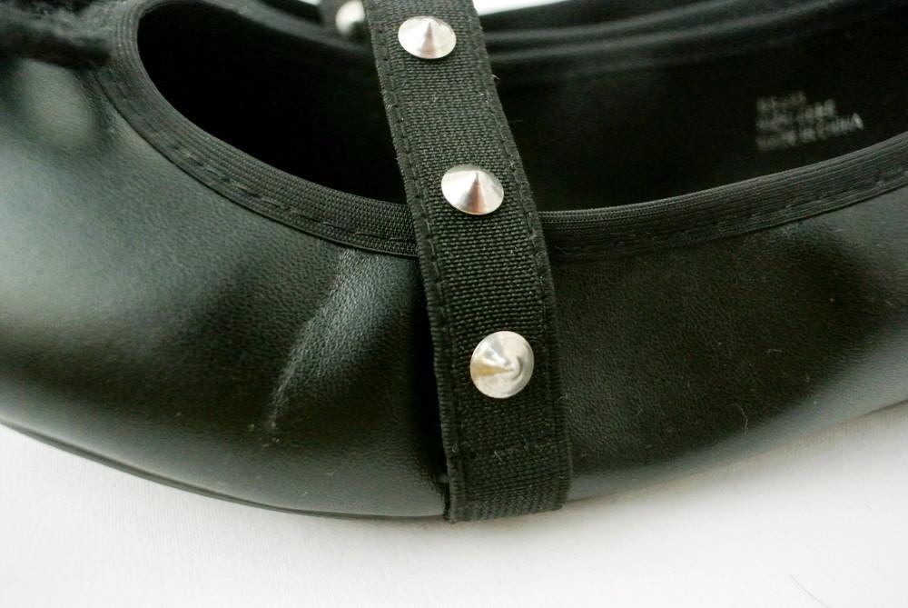 Классические стильные туфли-балетки sole diva из кожзама . размер uk8/41-42. фото №6