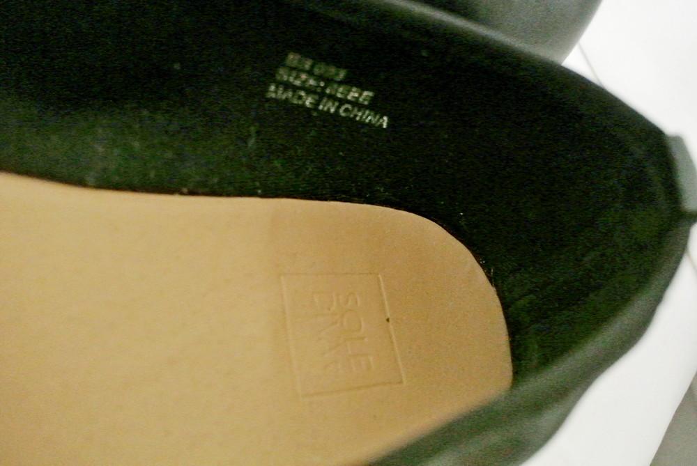 Классические стильные туфли-балетки sole diva из кожзама . размер uk8/41-42. фото №8