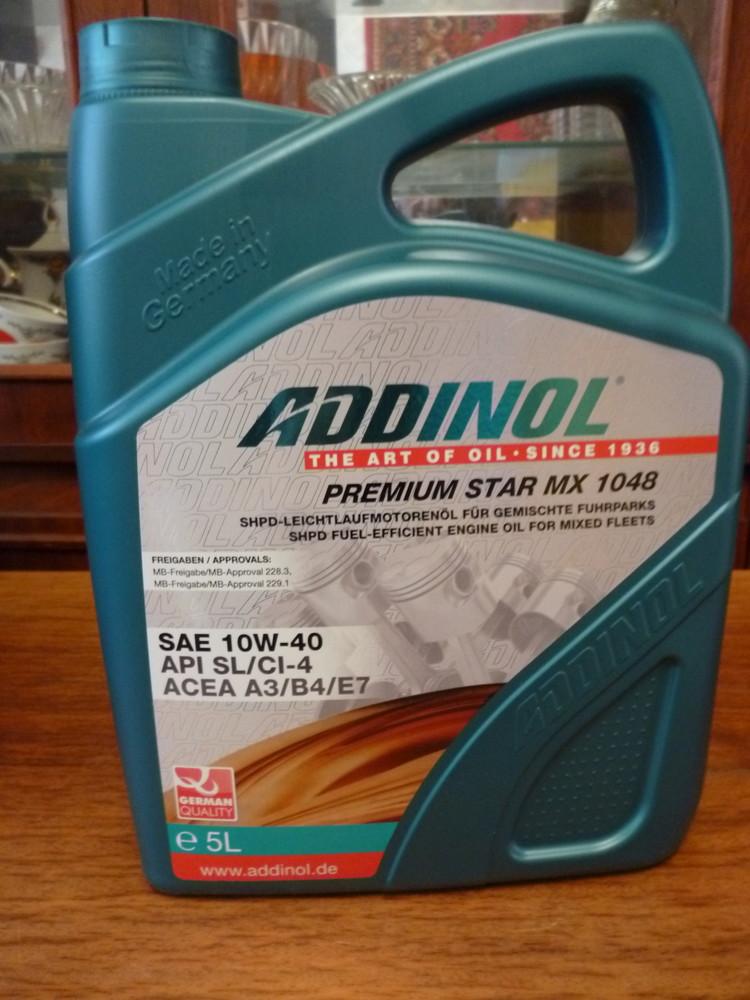 5l addinol premium star mx 1048 фото №1