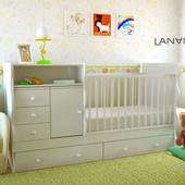 Дитяче ліжечко 5 в 1 NOLA