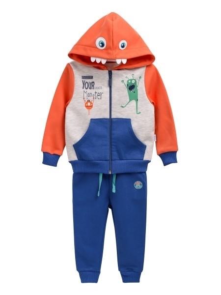 Бемби теплый костюм кофта и штаны для мальчика р 74,80,86 фото №1