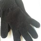 Перчатки atmosphere осень-зима черные