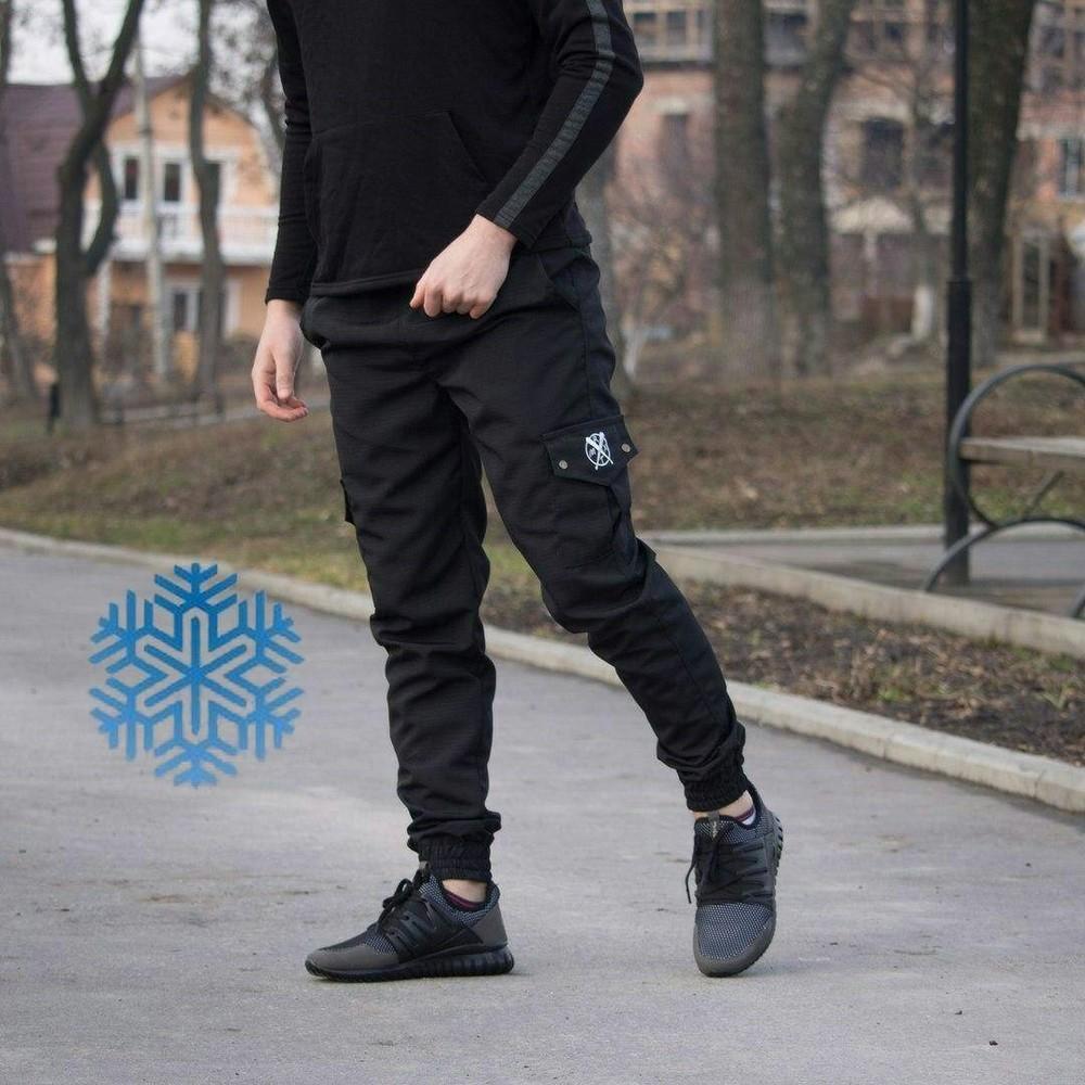 Мужские зимние штаны cargo фото №1 8b64036fef95d