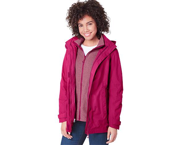 Всепогодная женская куртка 3 в 1 от tchibo германия евро 38, наш 44-46 фото №1