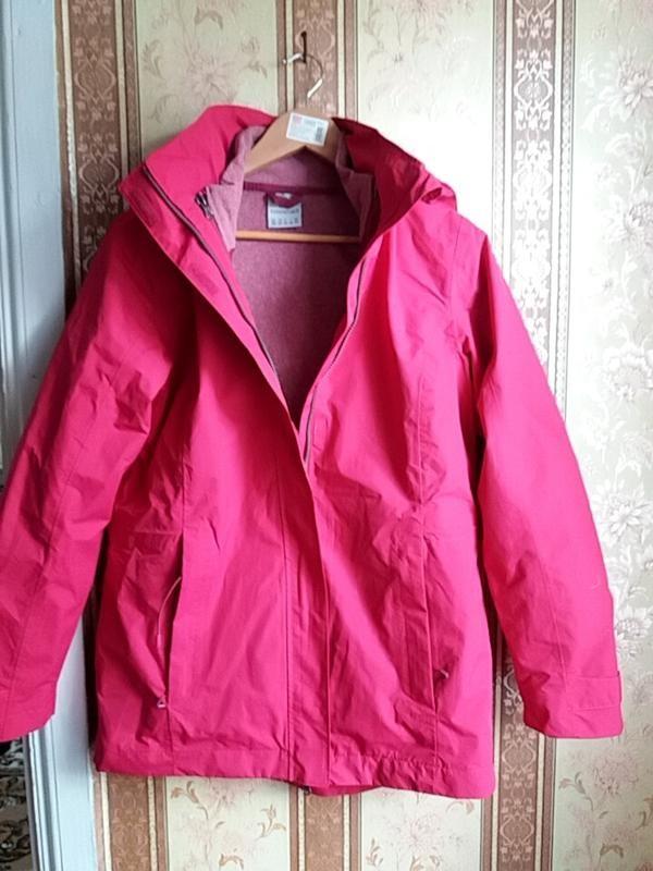 Всепогодная женская куртка 3 в 1 от tchibo германия евро 38, наш 44-46 фото №3