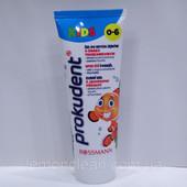 Зубной гель Prokudent Kinder Zahngel для детей до 6-ти со вкусом клубники 75мл (Германия)