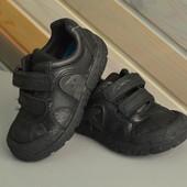 Ботинки кроссовки кожа с динозаврами Clarks (24G)
