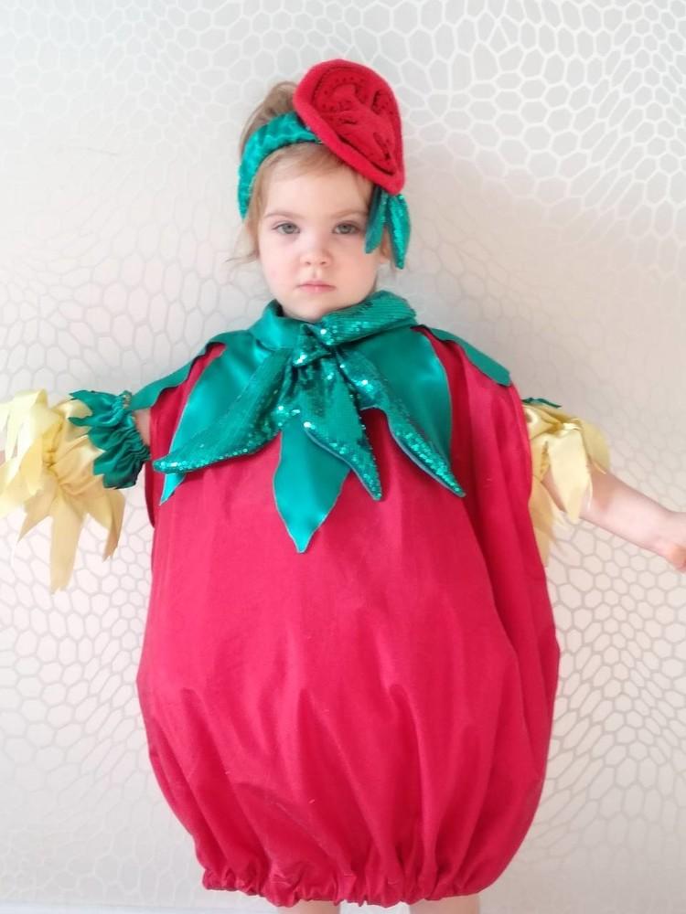 Прокат костюм помідор, помидор помидора,помидоры,помидорка,томата, овощи огород к празднику осени фото №1