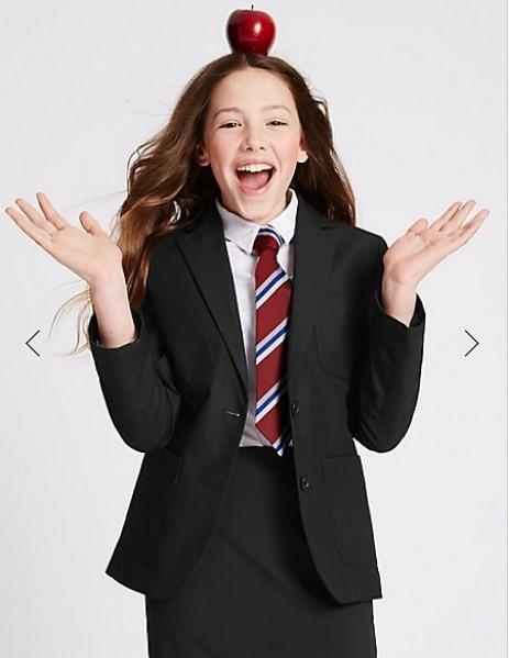 Школьный пиджак marks&spencer для  девочки на 14 лет фото №1