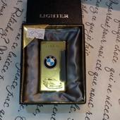 подарочная зажигалка BMB цвет золото