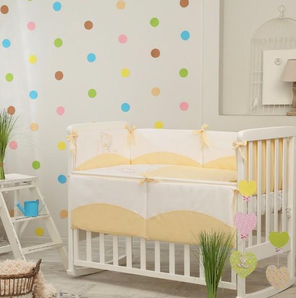 Постельное белье для новорожденных из 3 предметов (много моделей) фото №13