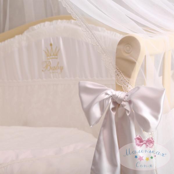 Постельное белье для новорожденных из 3 предметов (много моделей) фото №14