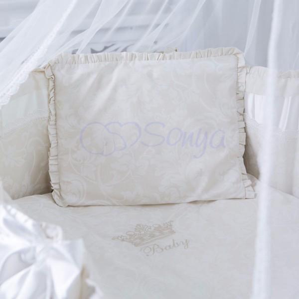Постельное белье для новорожденных из 3 предметов (много моделей) фото №1
