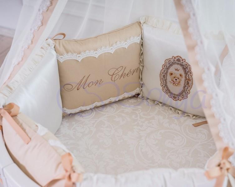 Постельное белье для новорожденных из 3 предметов (много моделей) фото №19