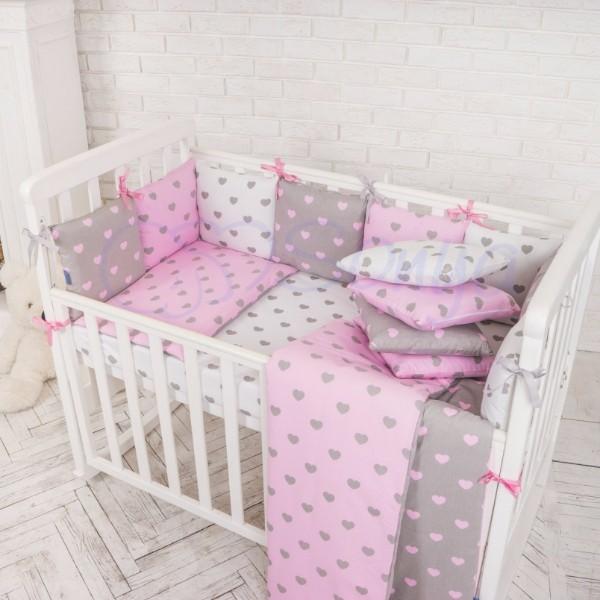 Постельное белье для новорожденных из 3 предметов (много моделей) фото №3