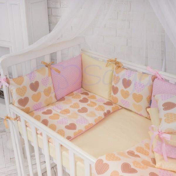 Постельное белье для новорожденных из 3 предметов (много моделей) фото №4