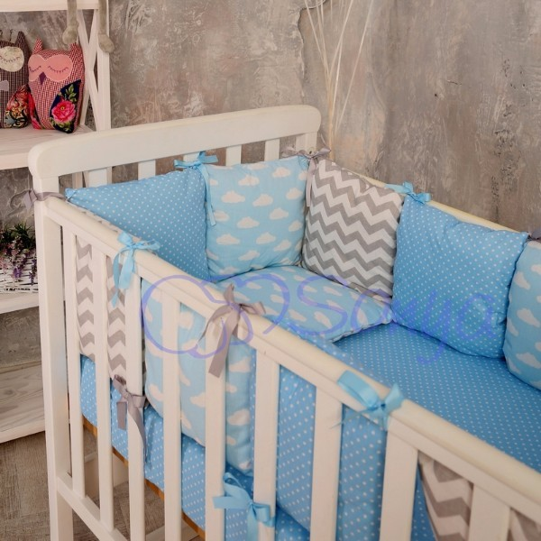 Постельное белье для новорожденных из 3 предметов (много моделей) фото №5
