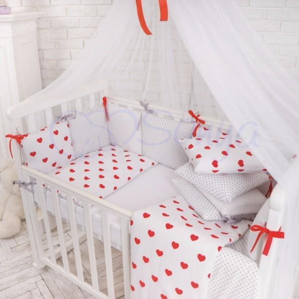 Постельное белье для новорожденных из 3 предметов (много моделей) фото №7