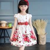 нарядное детское платье на выпускной утренник фотосессию 116 122 128 134 140