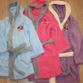 Распродажа! Супер цена! Детский плюшевый халатик. 3 цвета