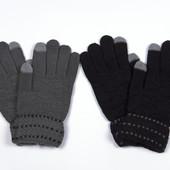 Мужские перчатки Тачскрин для работы с сенсорным экраном Осень-зима