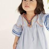 Блуза с вышивкой Next (12-18 мес)