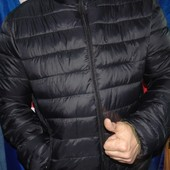 Новая стильная зимняя двустороння курточка бренд New Brams .л-хл .