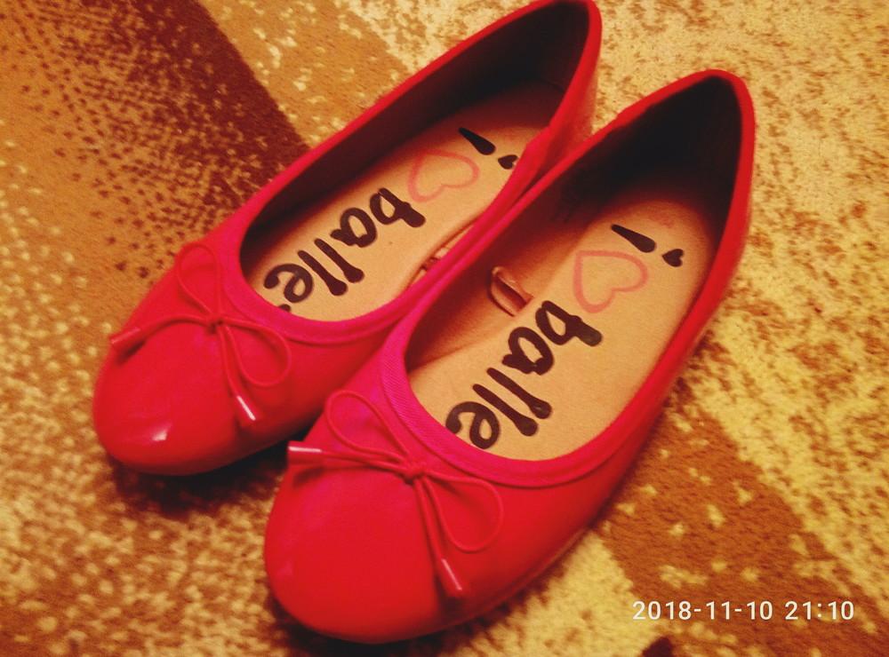 Туфли -балетки в идеальном состоянии, размер 32. фото №1