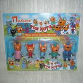 Игровой набор Три кота Семья (пикник)