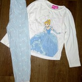 Пижама хлопок Золушка на 6-7лет(116-122см)
