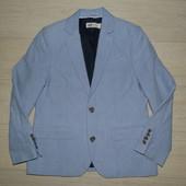 Стильный котоновый пиджак H&M 7-8 лет