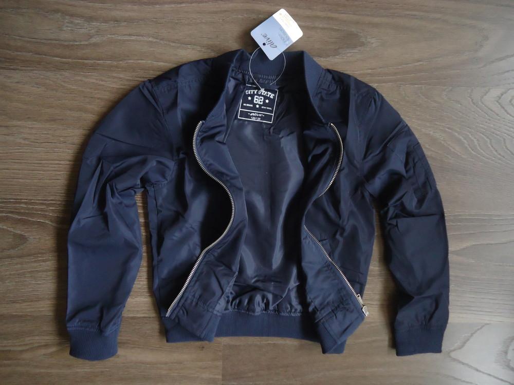 Бомбер ветровка легкая куртка alive германия, р-ры 122/128, 146/152, 158/164 см фото №4