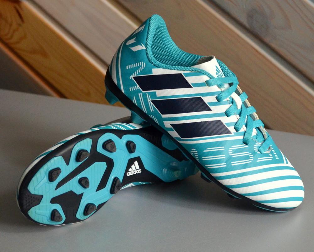 Кроссовки копы бутсы adidas nemeziz messi 17.4 fg s77201 (30,5) фото №2
