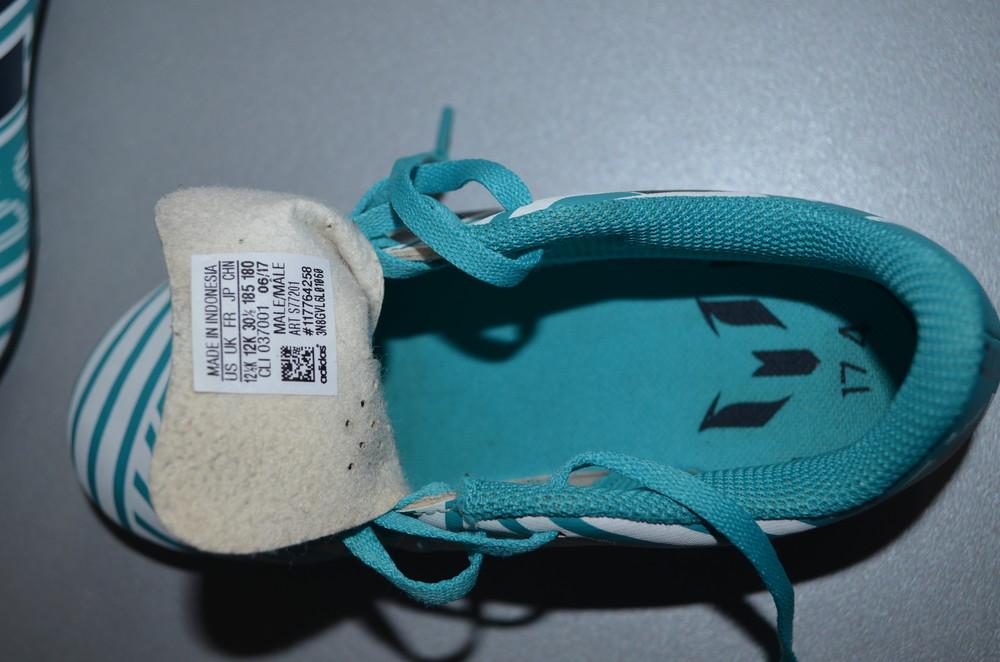 Кроссовки копы бутсы adidas nemeziz messi 17.4 fg s77201 (30,5) фото №8