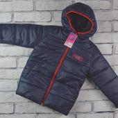 Зимняя курточка на 104 см