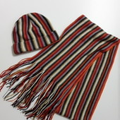 Фирменный шарф шапка набор