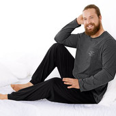 Теплый домашний костюм р.4xl 68-70 пижама Livergy Германия реглан штаны джоггеры