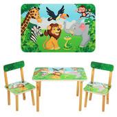 Столик 501-10  деревянный