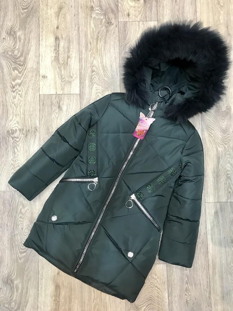 Внимание! распродажа! тёплое зимнее пальто на девочку фото №10
