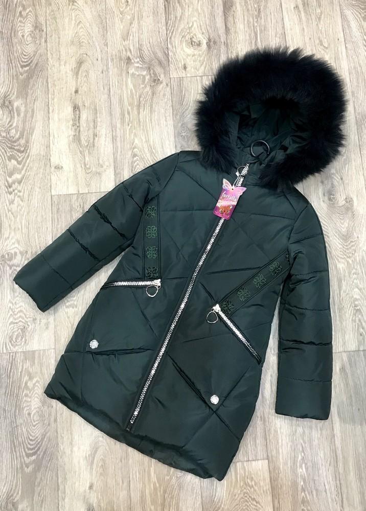 Внимание! распродажа! тёплое зимнее пальто на девочку фото №11