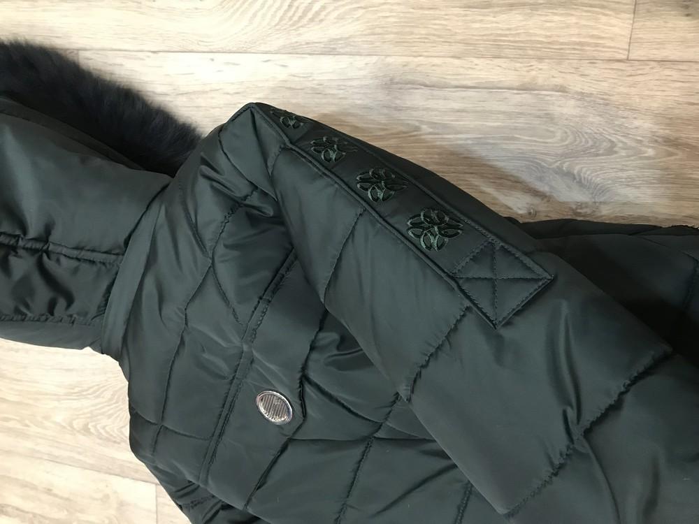 Внимание! распродажа! тёплое зимнее пальто на девочку фото №12