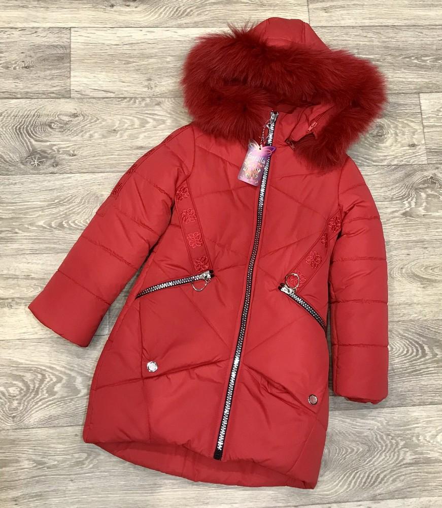 Внимание! распродажа! тёплое зимнее пальто на девочку фото №1